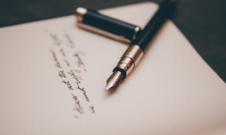 Brief des Rektors