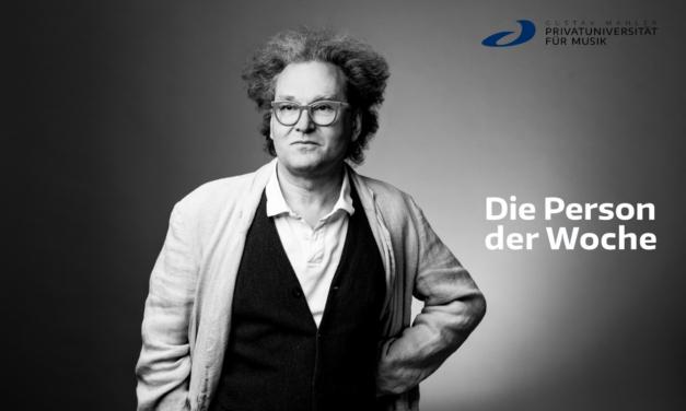 Die Person der Woche: Wolfgang Benedikt
