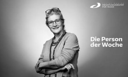 Person der Woche: Elisabeth Väth-Schadler