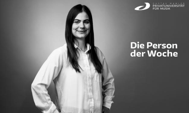 Die Person der Woche: Mag. Janina KROPFITSCH