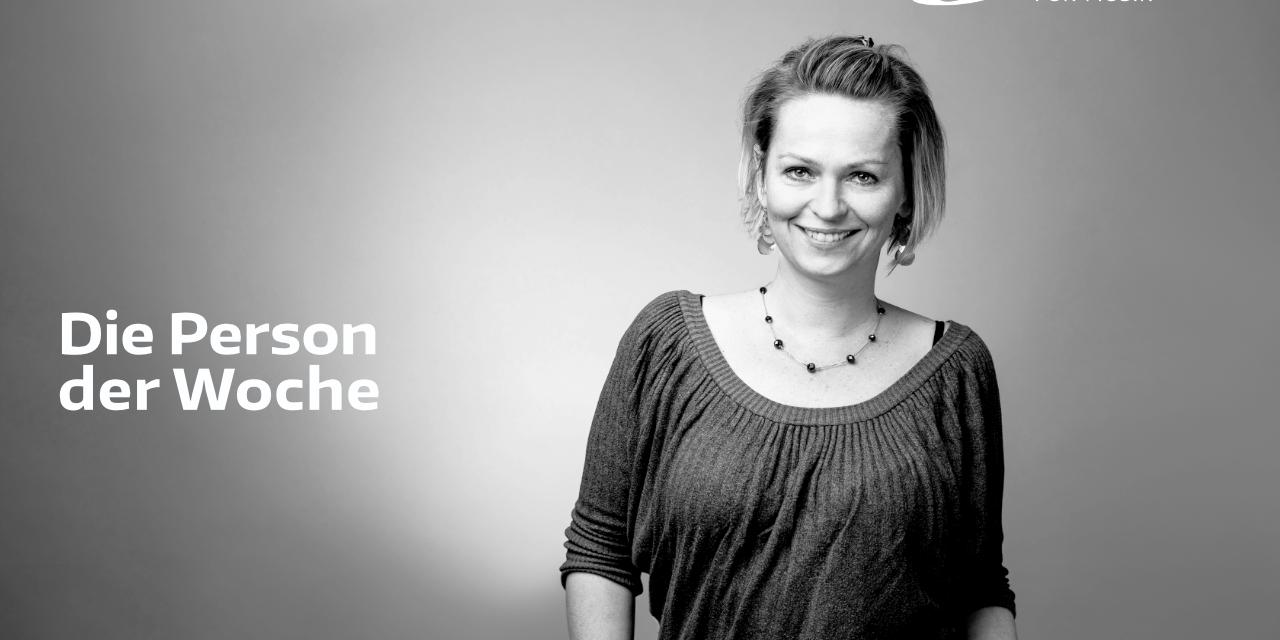 Person der Woche: Caroline de Rooij