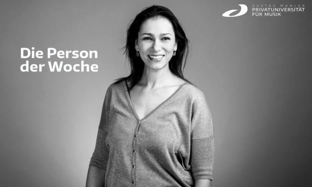 Person der Woche – Aida-Carmen Soanea