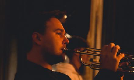 Daniel Amann beim JM World Jazz Orchestra 2021