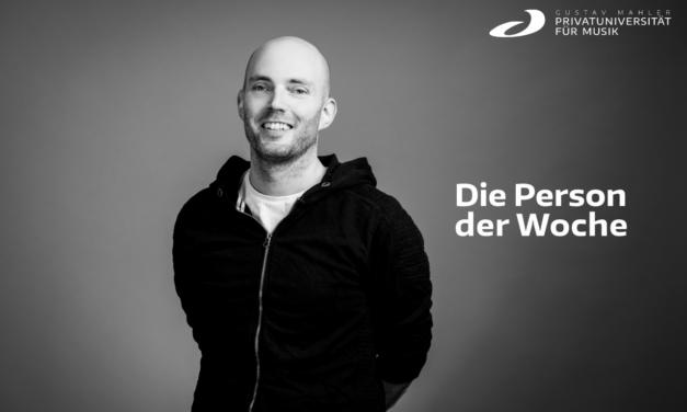 Person der Woche – Reinhold Pleschberger-Schmölzer